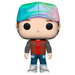 FIGURINE RETOUR VERS LE FUTUR FUNKO POP! MARTY IN FUTURE OUTFIT