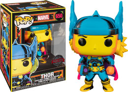 FUNKO POP! MARVEL BLACK LIGHT THOR EXCLUSIVE