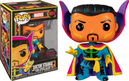 FUNKO POP! MARVEL BLACK LIGHT DR. STRANGE EXCLUSIVE