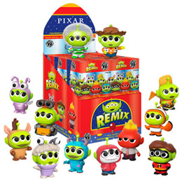 PACK 12 FIGURINES MYSTERY DISNEY PIXAR ALIEN REMIX + PRÉSENTOIR