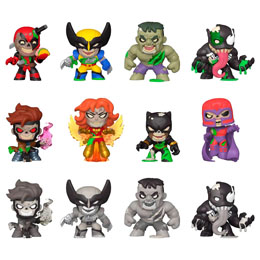 12 FIGURINES MYSTERY MINIS MARVEL ZOMBIES + PRÉSENTOIR