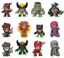 12 FIGURINES MYSTERY MINIS MARVEL ZOMBIES SPECIALTY SERIES + PRÉSENTOIR