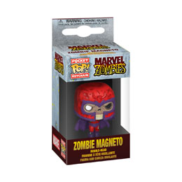 MARVEL PORTE-CLÉS POCKET POP! VINYL ZOMBIE MAGNETO
