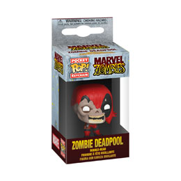 MARVEL PORTE-CLÉS POCKET POP! VINYL ZOMBIE DEADPOOL 4 CM