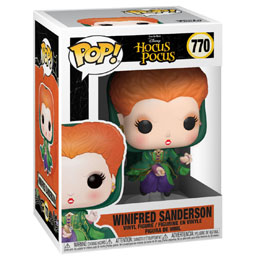 DISNEY HOCUS POCUS POP! VINYL FIGURINE WINIFRED FLYING