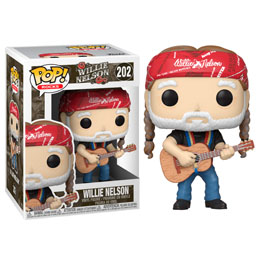 FUNKO POP! ROCKS VINYL FIGURINE WILLIE NELSON