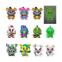 12 FIGURINES MYSTERY MINIS FIVE NIGHTS AT FREDDY'S + PRÉSENTOIR