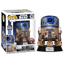 FIGURINE FUNKO POP STAR WARS DAGOBAH R2-D2 EXCLUSIVE