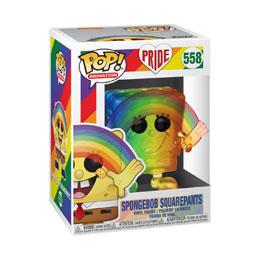 Photo du produit PRIDE 2020 BOB L´ÉPONGE POP! ANIMATION VINYL FIGURINE SPONGEBOB (RNBW) Photo 1