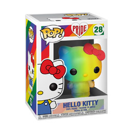 PRIDE 2020 HELLO KITTY POP! SANRIO VINYL FIGURINE HELLO KITTY (RNBW)