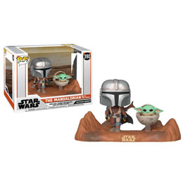 THE MANDALORIAN PACK 2 POP MOMENT! VINYL FIGURINES MANDALORIAN & CHILD