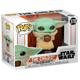 FIGURINE THE MANDALORIAN FUNKO POP! STAR WARS THE CHILD WITH CUP