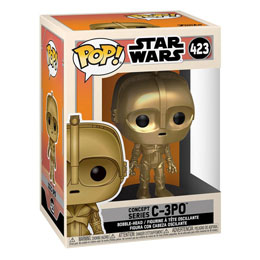 FIGURINE FUNKO POP STAR WARS CONCEPT C-3PO