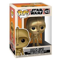 FIGURINE FUNKO POP STAR WARS CONCEPT C-3PO