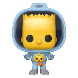 LES SIMPSONS FUNKO POP! BART WITH CHESTBURSTER MAGGIE