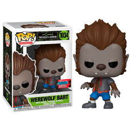 FUNKO POP THE SIMPSONS WEREWOLF BART EXCLUSIVE NYCC 2020