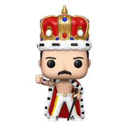 Photo du produit FUNKO POP ROCKS QUEEN FREDDIE MERCURY KING 9 CM Photo 1