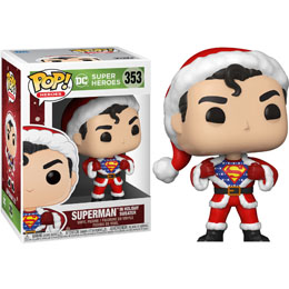FUNKO POP! SUPERMAN IN HOLIDAY SWEATER (DC HOLIDAY)