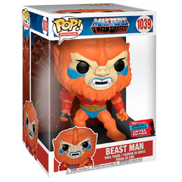 FUNKO POP MASTERS OF THE UNIVERSE BEAST MAN 25 CM EXCLUSIVE NYCC FALL CONVENTION 2020