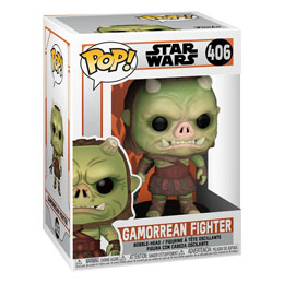 FIGURINE FUNKO POP STAR WARS THE MANDALORIAN GAMOREAN FIGHTER