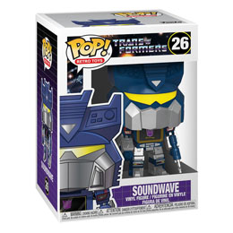 TRANSFORMERS FUNKO POP! SOUNDWAVE 9 CM