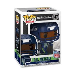 Photo du produit NFL POP! Sports Vinyl figurine D.K. Metcalf (Seattle Seahawks) 9 cm Photo 1