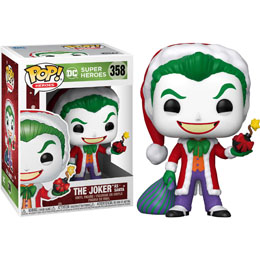FUNKO POP! THE JOKER AS SANTA (DC HOLIDAY)