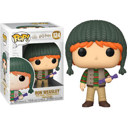 HARRY POTTER FIGURINE FUNKO POP! HOLIDAY RON WEASLEY