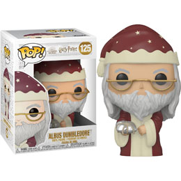 HARRY POTTER FIGURINE FUNKO POP! HOLIDAY ALBUS DUMBLEDORE