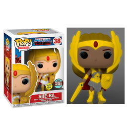 MASTERS OF THE UNIVERSE FUNKO POP! FIGURINE SPECIALTY SERIES CLASSIC SHE-RA GITD