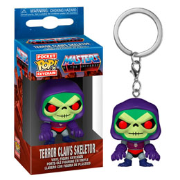 PORTE CLE FUNKO POCKET POP TERROR CLAWS SKELETOR / MASTERS OF THE UNIVERSE