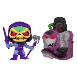 Masters of the Universe POP! Town figurine Snake Mountain with Skeletor