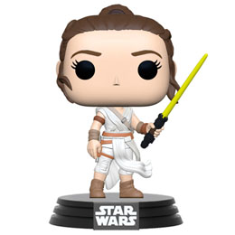 STAR WARS EPISODE IX FUNKO POP! REY WITH BLUE SABER