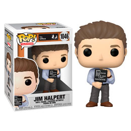 THE OFFICE US FUNKO POP! JIM WITH NONSENSE SIGN