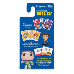 Photo du produit TOY STORY CARTON DE 4 JEUX DE CARTES SOMETHING WILD! (FRANCAIS / ANGLAIS) Photo 1