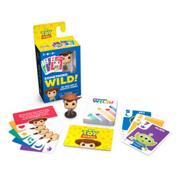 Photo du produit TOY STORY CARTON DE 4 JEUX DE CARTES SOMETHING WILD! (FRANCAIS / ANGLAIS) Photo 3