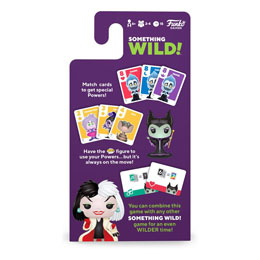 Photo du produit DISNEY VILLAINS CARTON DE 4 JEUX DE CARTES SOMETHING WILD! (FRANCAIS / ANGLAIS) Photo 1