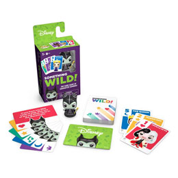 Photo du produit DISNEY VILLAINS CARTON DE 4 JEUX DE CARTES SOMETHING WILD! (FRANCAIS / ANGLAIS) Photo 2