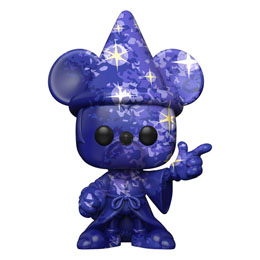 FANTASIA 80TH ANNIVERSARY FUNKO POP! FIGURINE MICKEY (ARTIST SERIES) #1 WITH POP PROTECTOR