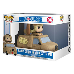 FUNKO POP POP! RIDES HARRY DUNNE IN MUTTS CUTTS VAN 18 CM