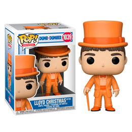 FUNKO POP DUMB AND DUMBER LLOYD CHRISTMAS IN TUX