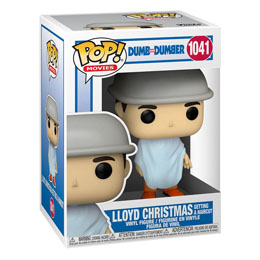 FUNKO POP DUMB AND DUMBER LLOYD CHRISTMAS GETTING A HAIRCUT