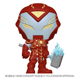 FUNKO POP MARVEL INFINITY WARPS FIGURINE IRON HAMMER