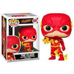 THE FLASH FIGURINE POP! HEROES VINYL THE FLASH 9 CM
