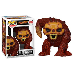 THE FLASH FIGURINE POP! HEROES VINYL BLOODWORK 9 CM