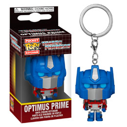PORTE CLÉ FUNKO POCKET POP TRANSFORMERS OPTIMUS PRIME
