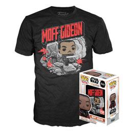 Star Wars The Mandalorian POP! & Tee set figurine et T-Shirt Moff Gideon