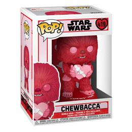 Photo du produit STAR WARS VALENTINES FUNKO POP! STAR WARS CUPID CHEWBACCA WITH HEART 9 CM Photo 1