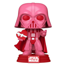STAR WARS VALENTINES FUNKO POP! STAR WARS VADER WITH HEART 9 CM