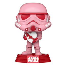 STAR WARS VALENTINES FUNKO POP! STAR WARS CUPID STORMTROOPER WITH HEART 9 CM